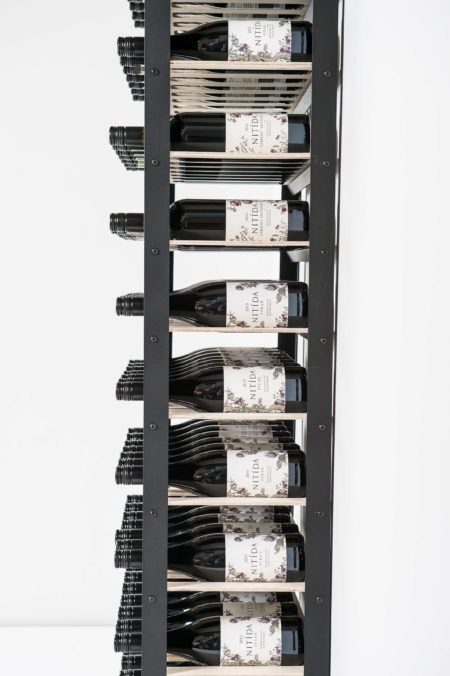 classic wine rack with 7 wine shelves