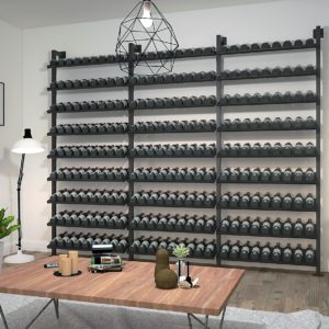 Wine wall: Type 3